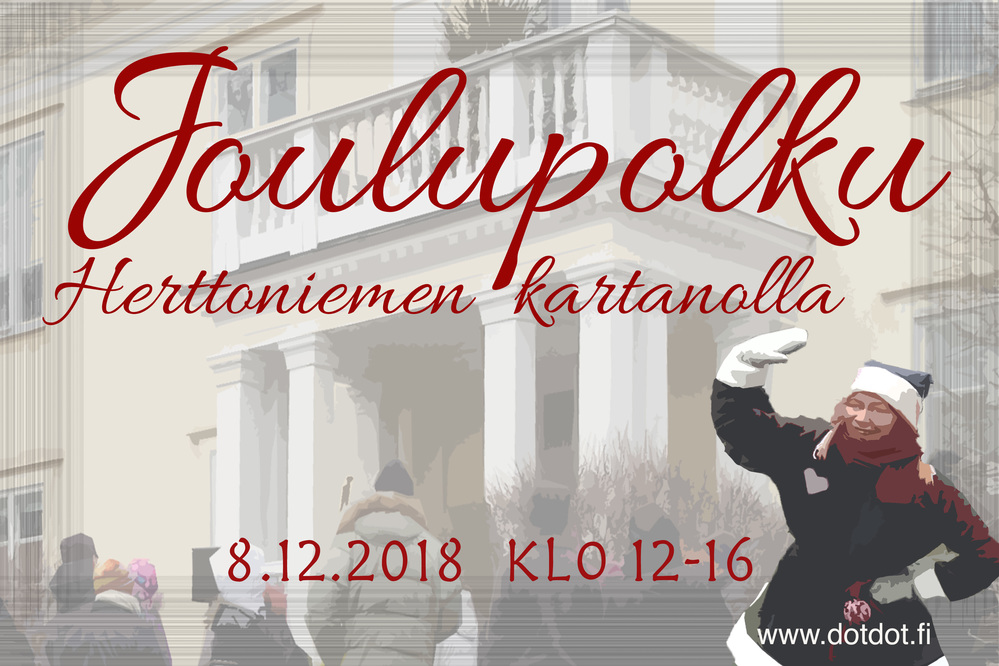 Joulupolku Herttoniemen kartanolla - save the date